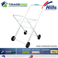 Laundry Trolley Hills® Premium Classic Foldable Collapsible Clothes Washing Cart