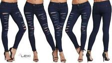 Indigo, Dark wash Regular Slim, Skinny L30 Jeans for Women