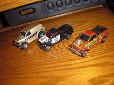 Nice Vintage Lot of 3 Different Hot Wheels Dodge Power Wagons & Panels