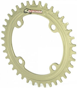Renthal 1XR 4-Arm 96BCD Narrow Wide Chainring - Gold