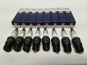 Spark Plug ACDELCO GREEN STRIPE R46T / R45T GM 5613721 5613357 LOT OF 8