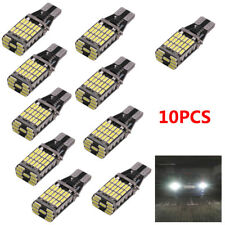 10 STÜCK T15 W16W 45SMD LED Rückfahrlicht Fehlerfrei Canbus Birne Blinker Licht