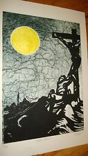 """Limited Edition signed,named and numbered Print """"ECCE HOMO"""" 21/75"""