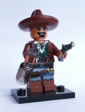 NEW CUSTOM LEGO bad hombre dark FLESH DRUNK MEXICAN COWBOY CHARRO BOTTLE BANDIT