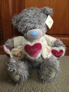 """~ME TO YOU ~ Tatty Teddy ~ """"I Love You This Much """" Bear ~ Love ~ 15 inch ~ New~"""