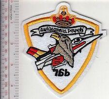 Belgium Air Force BAF F-16 Pilot Course Badge 1999 Armee de l'Air Belgique white