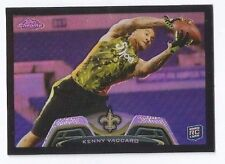 KENNY VACCARO 2013 TOPPS CHROME RC ROOKIE BLACK REFRACTOR /299 SAINTS