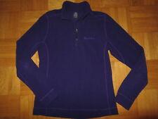 Odlo Fleece Pullover Gr S lila blau Ski Sport Pulli Damen tailliert top