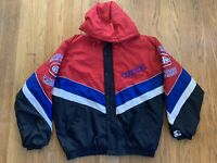 Montreal Canadiens Vintage 90's Starter Jacket Full Zip Mens XL EUC RARE NHL