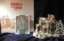 "Lilliput Lane Retired  ""The Old Vicarage at Christmas"" 1991 MIB"