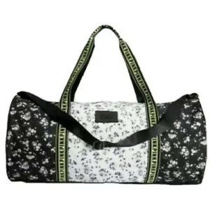 Victorias Secret PINK Floral Duffel Gym Bag