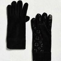 Urban Outfitters Black MICRO FLEECE GLOVES (Touchscreen Compatible) - NEW 26cfb16e7ee6
