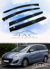 For Mazda 5 10-15 Window Visor Vent Sun Shade Rain Guard Door Visor