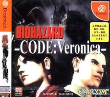 Sega Dreamcast juego-Biohazard: código Veronica (con embalaje original) (usk18) (NTSC-JP) Artículo nuevo