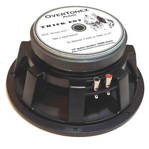 "OverTonez Audio 12"" Guitar Speaker (EVM12L, EM12 alternative), 300W, 8ohm"