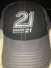 2015 Chase Elliott Hendrick 21 MEANS 21 Talladega Pole Award VictoryPit Crew Hat