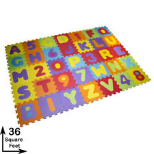 NEW 36 PCS PLAY MAT ALPHABET/NUMBER KIDS CHILDREN SOFT EVA FOAM JIGSAW PUZZLE
