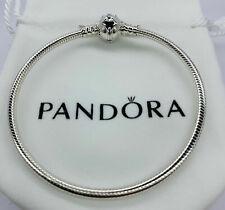 Plata Pandora Pulsera serpiente De Harry Potter Golden Snitch Ale S925 19cm