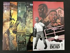 The Walking Dead DELUXE COLOR # 1 Lot (2020) — Covers A B C D E Variant — NM
