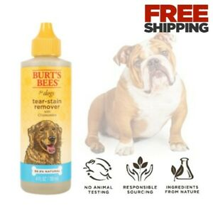 Natural Tear Stain Remover Dogs French Bulldogs White Poodles Puppies Eye Wash