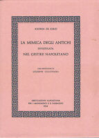 ANDREA DE JORIO - LA MIMICA DEGLI ANTICHI