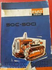 trattore trattrice Manuale catalogo parte di ricambio Fiat OM 50C