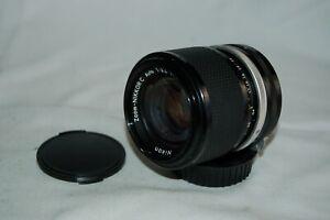 Nikkor-C Vintage 1960s Japanese SLR Lens 3.5/43-86. Nikon Mount. 2264897 UK Sale