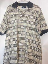 Biscayne Bay Polo Men Large Shirt