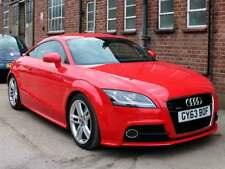 2014 Audi TT S Line Quattro 2.0 TDI Diesel 2dr Red 34,200 miles 2 Owners FASH