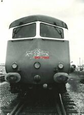 PHOTO  W60097 FRONT END OF METROPOLITAN CAMMELL CLASS 251 8-CAR BLUE PULLMAN DMU