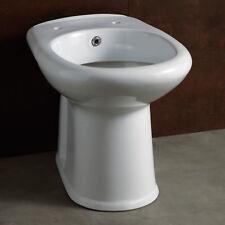 Vaso bidet combinato in ceramica scarico a pavimento cm 52 sanitari bagno novità