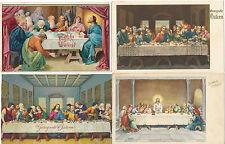 4 Karten Frohe Ostern, Hl.Abendmahl   2/1/15