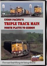 Union Pacific's Triple Track Main North Platte To Gibbon DVD coal trains video