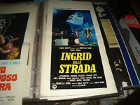 Ingrid auf Straße Plakat Original 1973 Janet Agren
