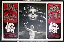 """""""JOE COCKER / LITTLE RICHARD / THE MOVE"""" Affiche U.S. originale entoilée 58x40cm"""