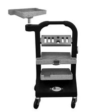 3 shelf farrier tooljack tool jack w/ tray by makers of the hoofjack cart box