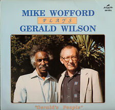 JAZZ LP MIKE WOFFORD PLAYS GERALD WILSON GERALD'S PEOPLE