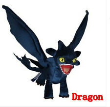 How to Train Your Dragon Night Fury Plush Anime Doll Toy Figure Christmas Gift