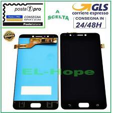 DISPLAY LCD ASUS ZENFONE 4 MAX ZC520KL X00HD TOUCH SCREEN SCHERMO VETRO NERO