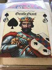 Gentle Giant - The Power and the Glory Vinyl LP + Insert UK 1st Press NM/NM Rare
