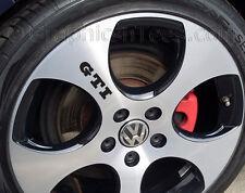 GTI Roue Alliage Stickers, Golf, Lupo, Polo Roue Alliage Autocollant Graphique-X5