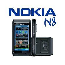 """TELEFONO CELLULARE TOUCHSCREEN NOKIA N8 NERO 3,5"""" 3G WIFI HDMI FOTO ZEISS-"""