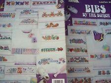 Baby Bibs RIBBAND Nursery Child Cross Stitch PATTERN  Booklet/Leaflet