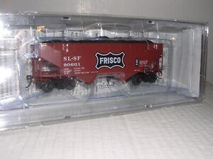 KADEE #7038  SL-SF Frisco 50 Ton 2-Bay Offset Side Hopper Car #90601  H.O. 1/87