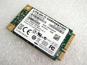 mSATA SSD HDD 6Gb/s Dell 0H9R7V Lite-On LMS-32L6M 32GB Mini PCIe 717771-001