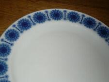 1 Kuchenteller   19,5 cm   Thomas  blaue Rosette  HOTEL GASTRONMIE