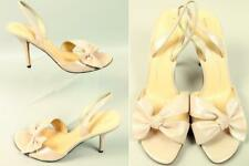 New KATE SPADE NY Italy Blush Metallic & Leather Sandals Shoes Pumps Heel 10