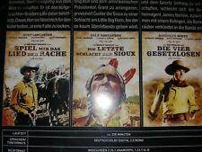 DVD 3  WESTERN BURT LANCASTER  - RANDOLPH SCOTT  , KINOFASSUNGEN  UNGESCHNITTEN