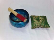 Tibetan Singing Bowl Set - With Traditional Design Tibetan
