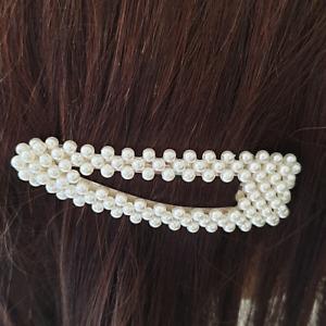 Fermaglio capelli donna Mollette Forcine Ferretti Perle clip moda